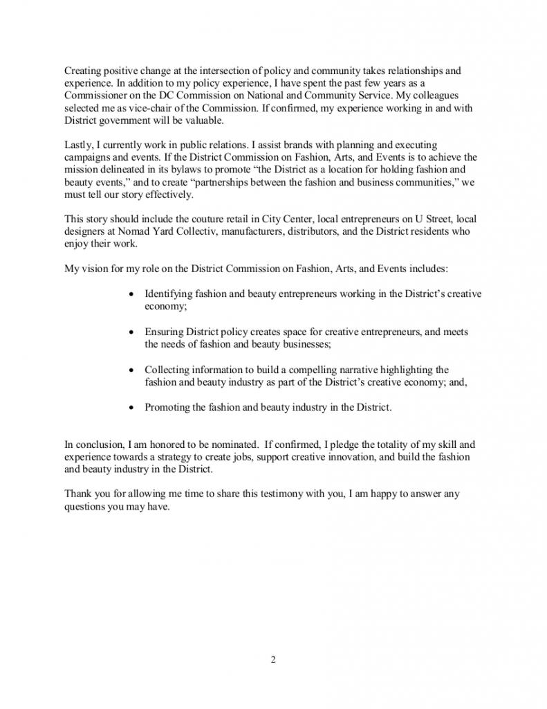 CFAE Testimony - Brandon Andrews 12216-2