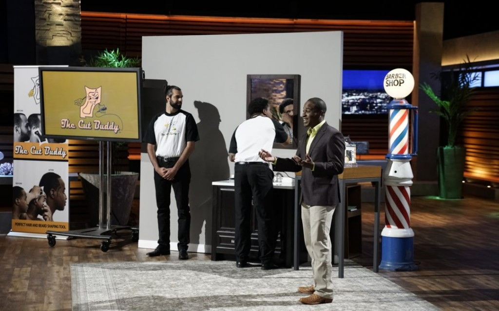 Joshua Esnard pitches Cut Buddy on ABC's Shark Tank